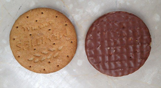 Biscuit-breaking news: McVitie's fans have been told that what they thought was the top of their beloved Digestives and Hobnobs is actually the bottom. The digestive part is, in fact, the top