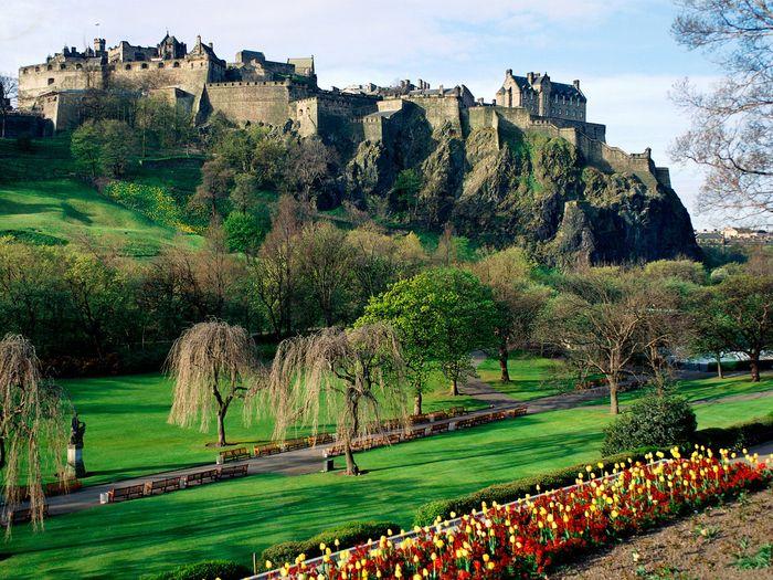 Эдинбургский замок, Шотландия / Edinburgh Castle, Scotland