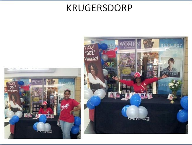 CUM Krugersdorp is celebrating 22 years! CD Signing - VICKY VILIKAZI  19 Oct 2013