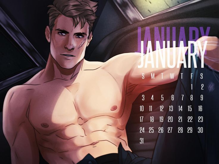 APH 2P GERMANY January Calendar by ask-p2-germany.tumblr.com