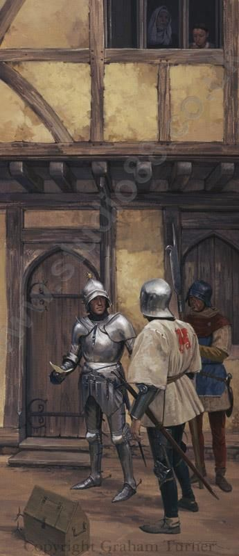 Edward Earl of March who had recently been victorious at the battle of Mortimer's Cross, and the Earl of Warwick were therefore able to march to London where on 4th March 1461 Edward was proclaimed King Edward IV.
