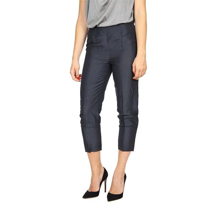 Armani Collezioni Ladies Trousers GREY #ArmaniCollezioni #CaprisCropped
