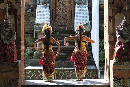 Balinese Dancers - Bali Sourced
