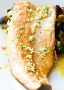 baked lemon garlic fish recipe Manfriend likes fish... I should probably give