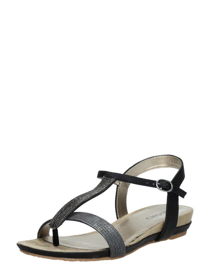 Choizz comfortabele dames sandalen - grijs