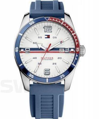 Wyprawa w amerykańskim stylu. #TommyHilfigerWatch #TommyHilfiger #blue #white #sport #beactive #kauczuk #watch #zegarek #zegarki #butikiswiss #butiki #swiss
