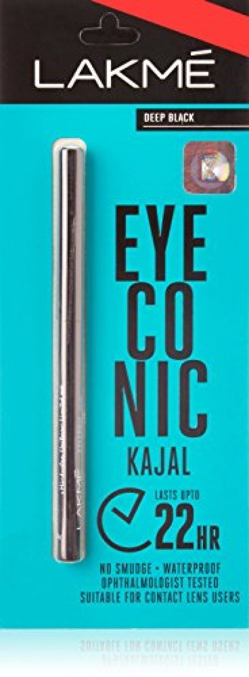 Lakme Eyeconic Kajal Deep Black 0.35 g At Rs.135 From Amazon