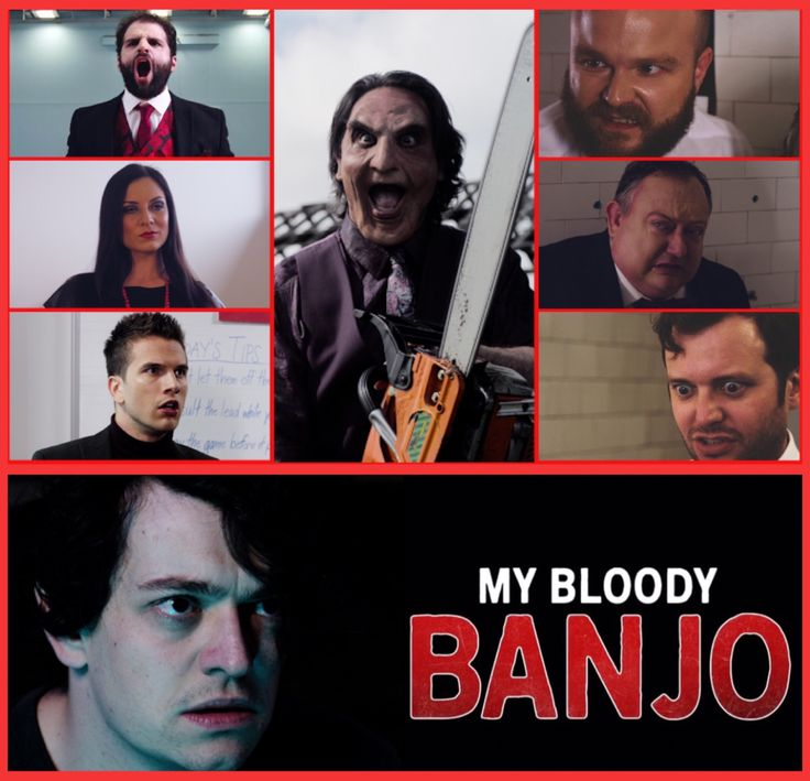#TerrorTuesday  Don't get mad, get even  MY BLOODY BANJO Coming uncut ✂️ October 2017  Revenge is a dish best served Bloody  #MyBloodyBanjo 💀#LiamRegan 💀#Horror 💀 #Comedy 💀#SupportIndieFilm💀