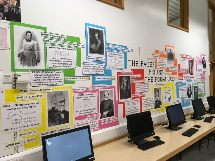 Resources and ideas for mathematics classroom displays. They range from inspiring quotes from famous thinkers, to word walls, growth mindset prompts and displays that brighten up a room whilst simultaneously supporting student learning.