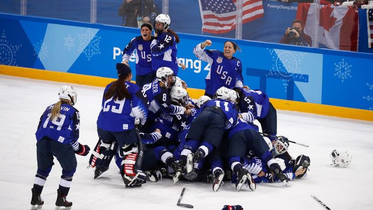 Team USA's Women's Hockey Gold Was The Most Electrifying Moment Of The Olympics - Deadspin