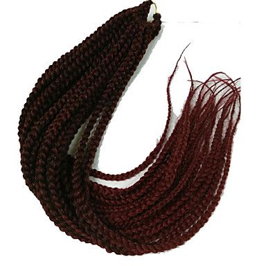 Kanekalon+Jumbo+Braid+24inch+Crochet+Hair+Extensions+3X+Box+Braids+Hair+Ombre+Braiding+Hair+Extensions+Synthetic+Hair+–+USD+$+23.62