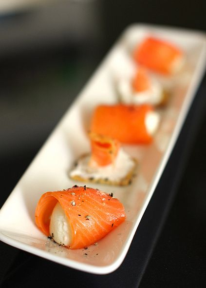 smoked salmon roll | Clean Plate Club | Pinterest
