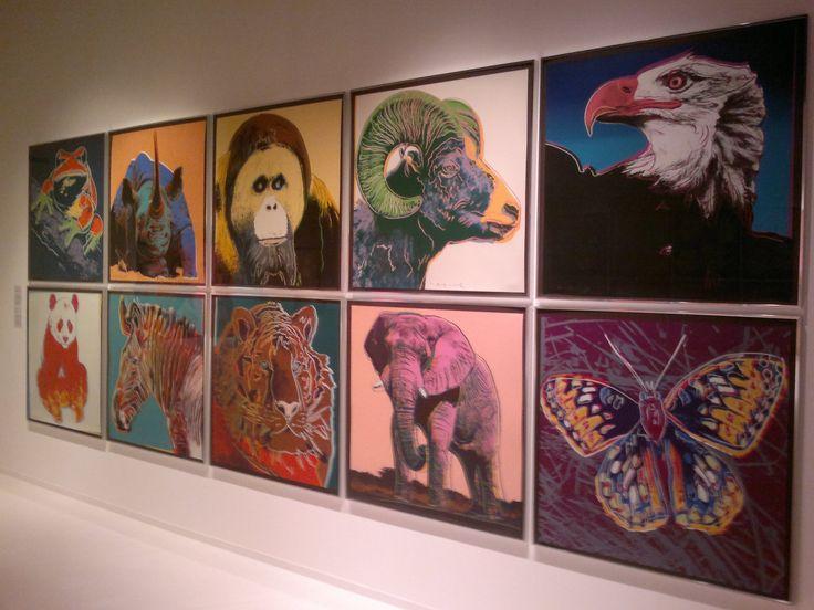 ′Вымирающие виды′ Энди Уорхола