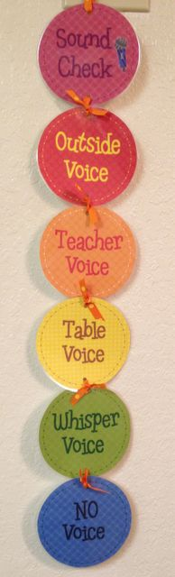 """My group this year really needs this! I like the term """"Teacher Voice""""--would use when they are sharing or presenting to the class"""
