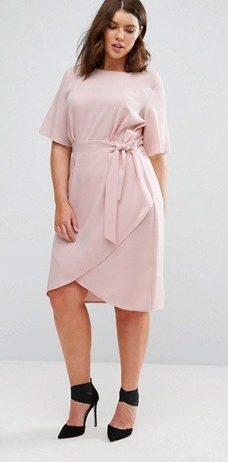 45 Plus Size Wedding Guest Dresses With Sleeves Plus Pinterest