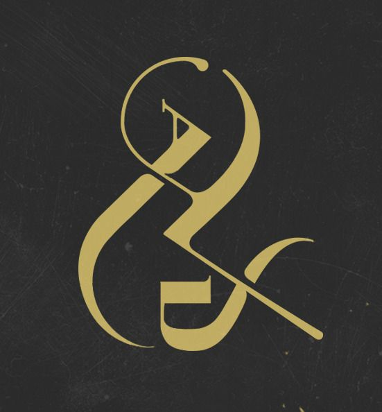 My most favorite character, &nd ampersand // by Jennet Liaw