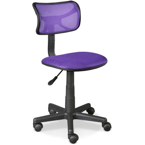 purple furniture. harley swivel mesh chair quick ship 39 liked on polyvore featuring home purple furniture d