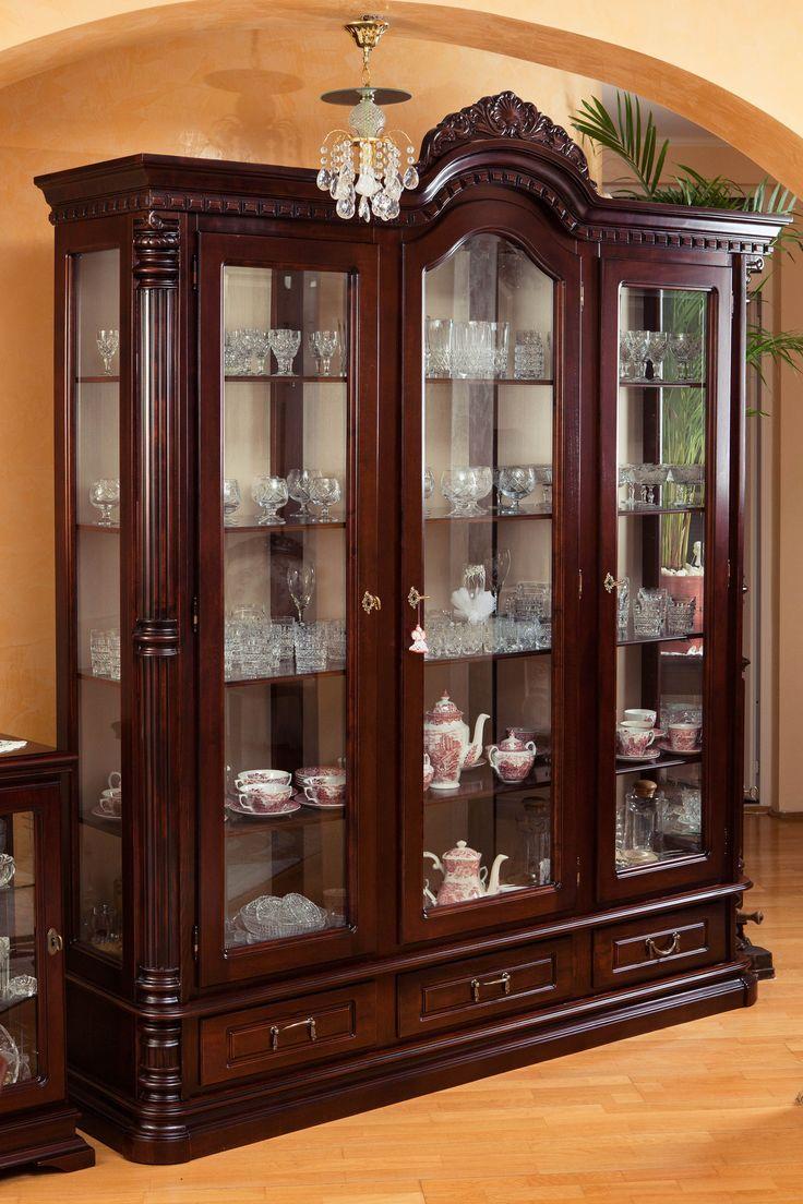 kitchen shelf display ideas sink cabinet size best 25+ crockery on pinterest | black ...