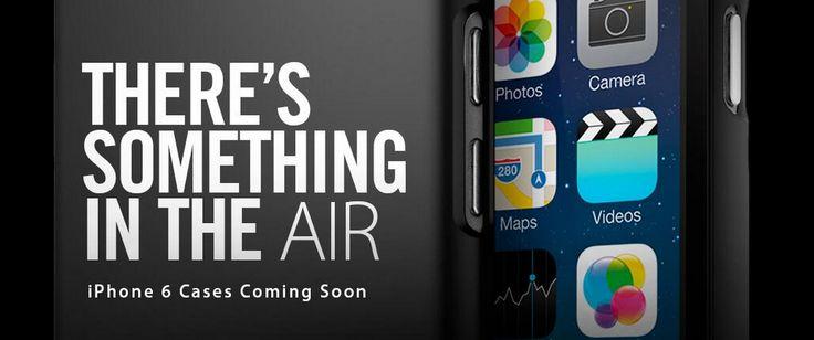 """Spigen iPhone 6 / iPhone Air """"Leak"""": Es liegt was in der Luft! - http://apfeleimer.de/2014/07/spigen-iphone-6-iphone-air-leak-es-liegt-was-in-der-luft - iPhone 6 heißt also doch iPhone Air, Dual LED Blitz beim neuen iPhone? SGP Spigen, Hersteller hochwertiger iPhone Hüllen, dürfte Euch aus unseremiPhone 5s Hüllen Vergleichbereits bekannt sein.Heute postet das Unternehmen plötzlichpassende iPhone 6 Hüllen mit einem verräterischen Slogan: ̶..."""