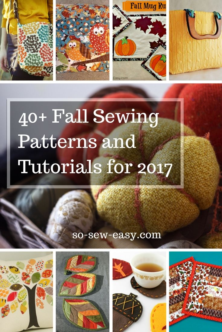 Fall Sewing Roundup for 2017: Make Something Special! https://so-sew-easy.com/fall-sewing-patterns-roundup-2017/?utm_campaign=coschedule&utm_source=pinterest&utm_medium=So%20Sew%20Easy&utm_content=Fall%20Sewing%20Roundup%20for%202017%3A%20Make%20Something%20Special%21