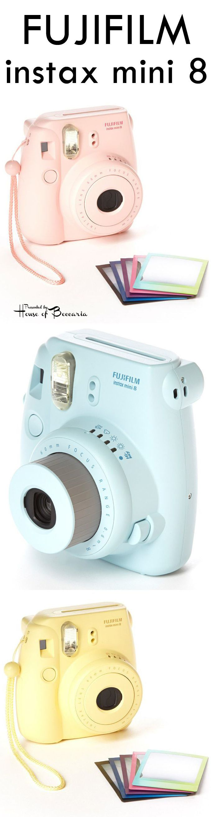 ~Don't Forget To Bring Your Fujifilm Instax Mini 8 Camera   House of Beccaria