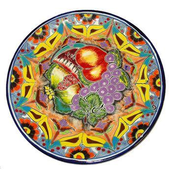Talavera Fruit Plate