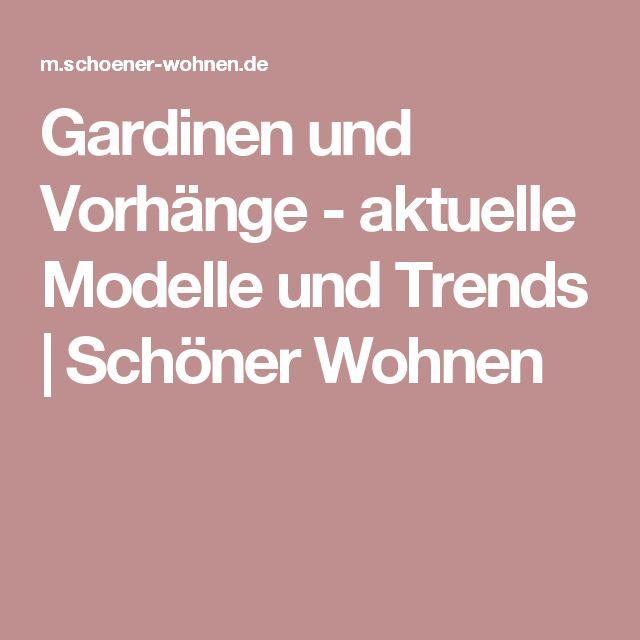 Gardinen und Vorhänge - aktuelle Modelle und Trends | Schöner Wohnen