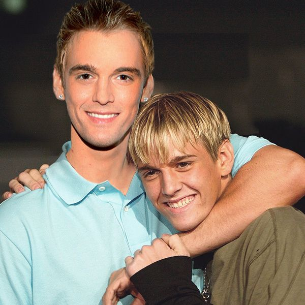 Aaron Carter and Aaron Carter | 13 Celebrities Posing With The Old Versions Of Themselves