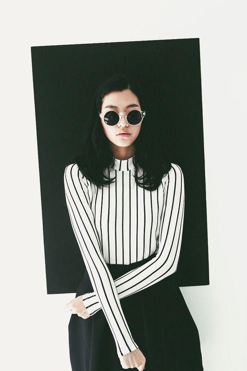 Noir et blanc outfit