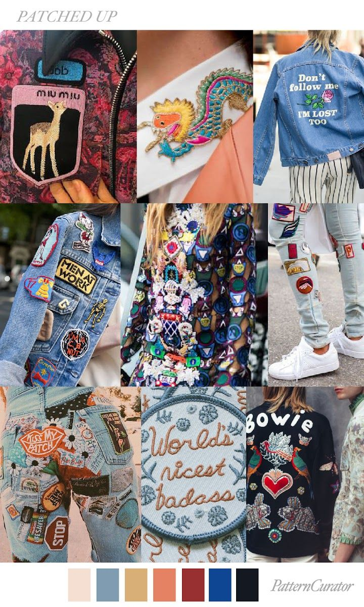TENDENCIA PATCHES / PARCHES por todas partes ! #coolhunting #moda