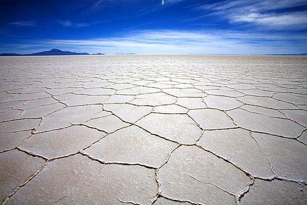 Salt flat, Bolivia