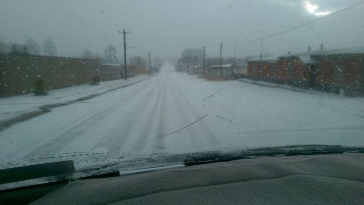 Tercer tormenta invernal trae nieve en 4 municipios de Chihuahua | El Puntero