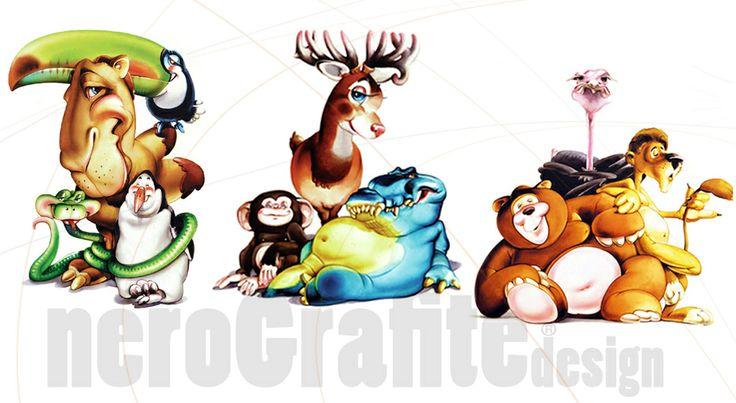 #zoo #character  #nerografite #Design   http://nerografite.wordpress.com/