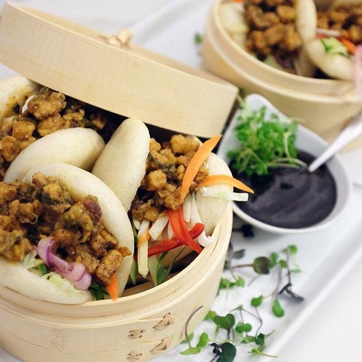 BBQ Pork Bao, Soft, Spicy, Yummy