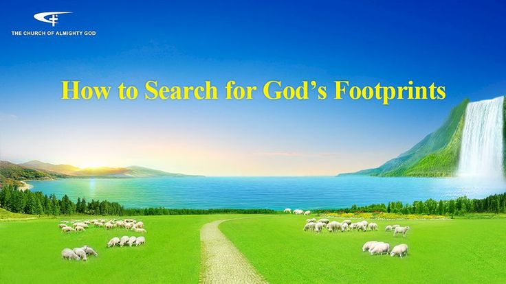 """💖💖 The Hymn of God's Word  """"How to Search for God's Footprints""""