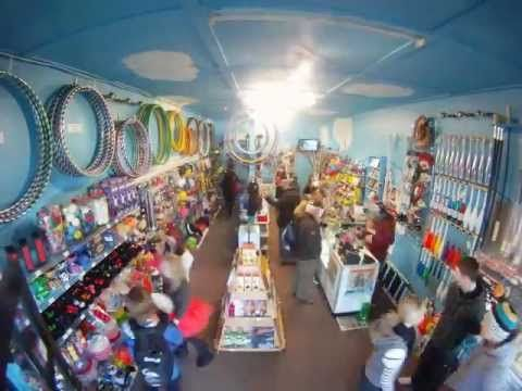 Winter Magic Festival 2011 Time Lapse of Weirder the Better Circus Shop