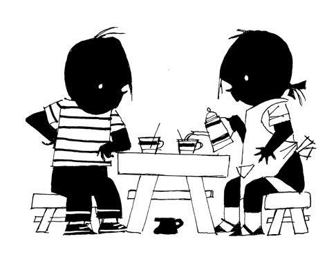 ga ik heerlijk weer lots of tea drinken met vriendjes en vriendinnetjes (of wat sterkers ;-)