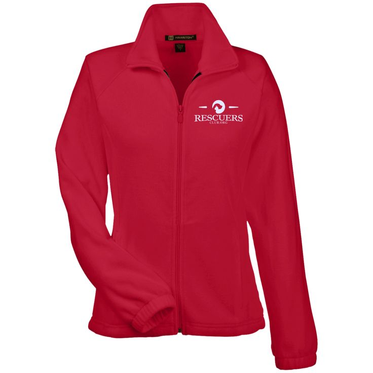 Rescuers Club Official Embroidered Fleece Jacket