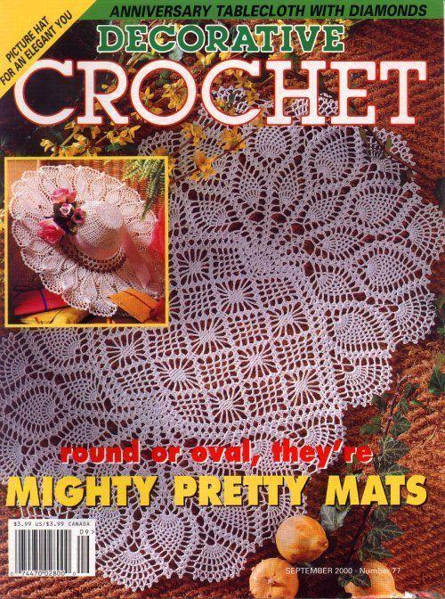 Magazine De Crochet : Crochet magazine crochet magazine Pinterest