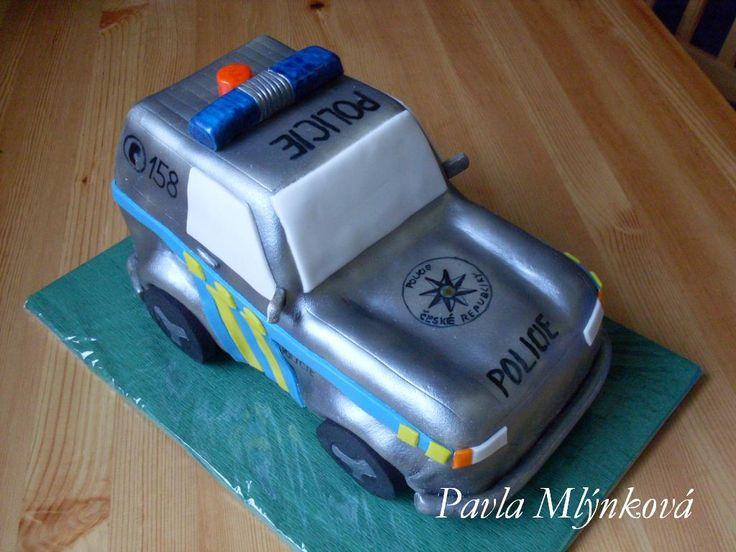 auto policejní