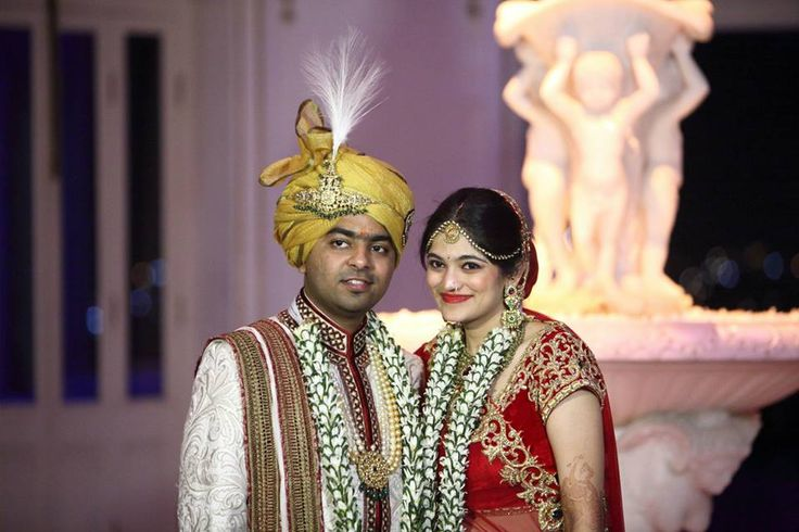 The happy bride and groom enjoying the best day of life. #eliteluxuryweddingmanagementcompanyinindia