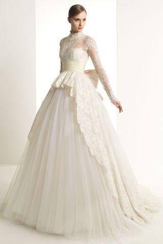 Trendy #Hijab #Wedding #Dresses http://www.fustany.com/en/fashion/weddings/trendy-hijab-wedding-dresses
