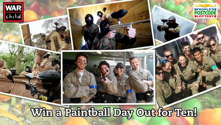 Enter now to win a full day of paintball action for you & your friends from War Child. Choose from 40 paintball centres nationwide! Ends 4 November 2014. Enter here: http://ngx.me/yWeHCM