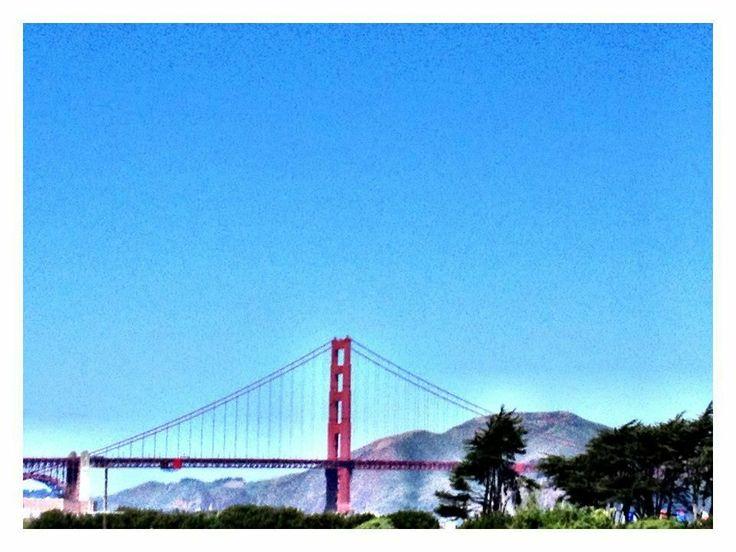 A perfect view of our favorite bridge. #SanFrancisco #GoldenGate