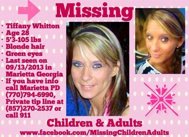 Find Missing Tiffany Michelle Whitton!