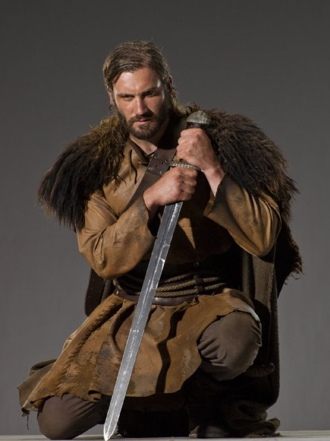 Clive Standen - Rollo - BBC History Vikings -- reminds me significantly of Mallark