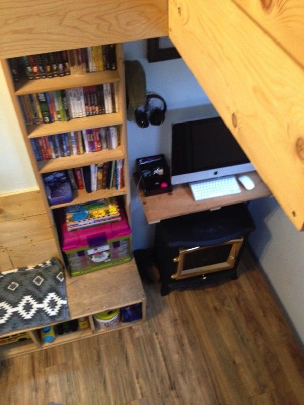 Familys DIY 8k Tiny House On Wheels 009