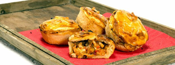 Zubereitung: Pastete mit Gemüse-Krabben-Füllung