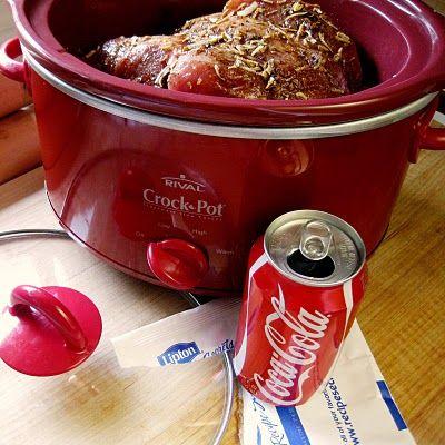 Coke Pork in a Crock Pot