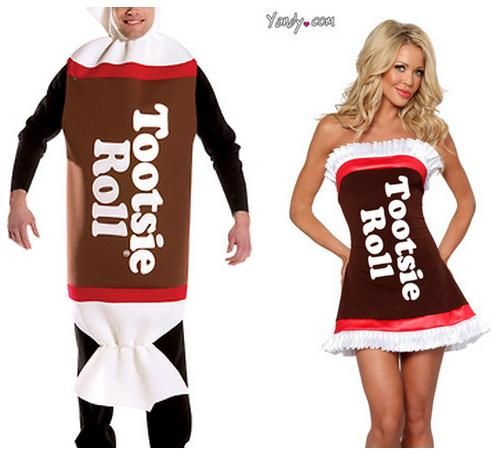 Pointlessly Gendered Tootsie Roll Costume Click Thru For More